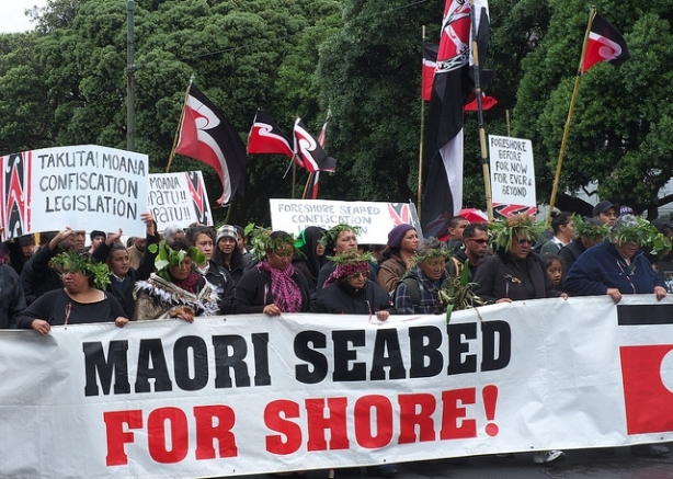 Maori protest