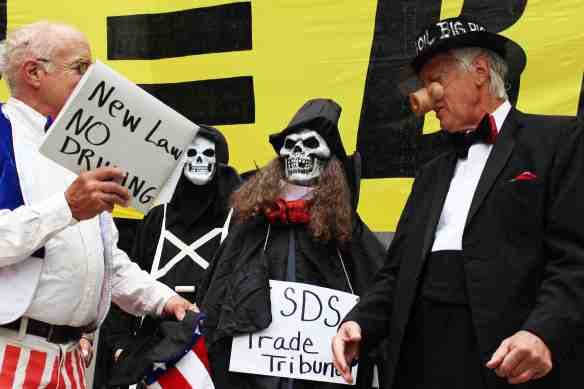 Big Oil brings in the ISDS corporate trade tribunals