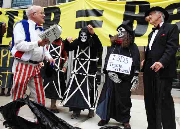 Uncle Sam is left powerless against ISDS