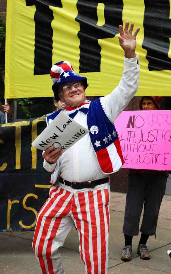 Uncle Sam holds new anti-drilling legislation