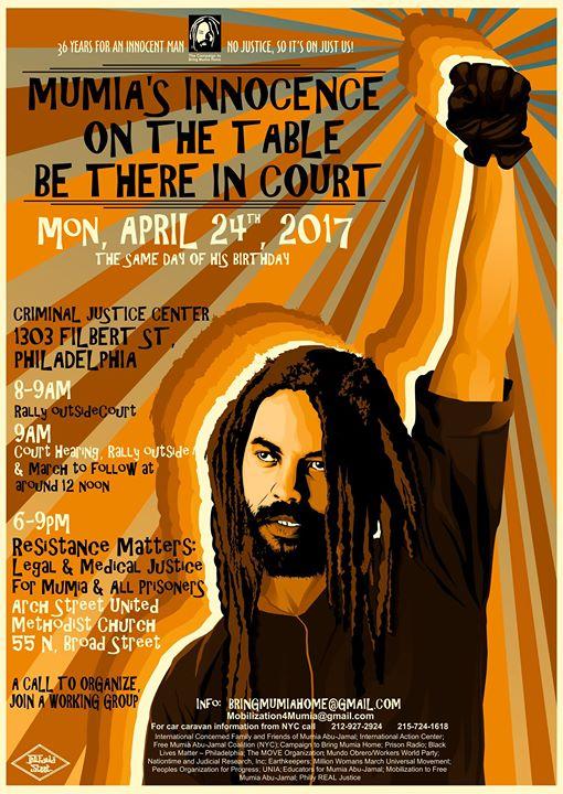 Philly Mumia April 24 2017