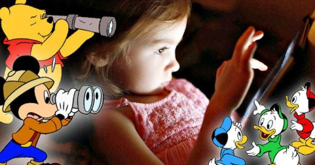 DISNEY SPYING ON KIDS