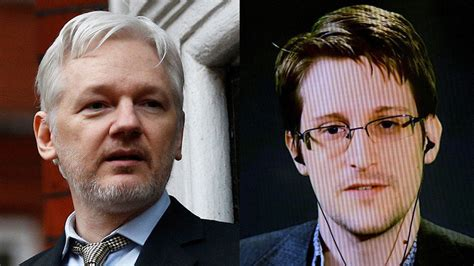 Assange Indictment To Criminalize Assistance Provided to Edward Snowden Assange-snowden
